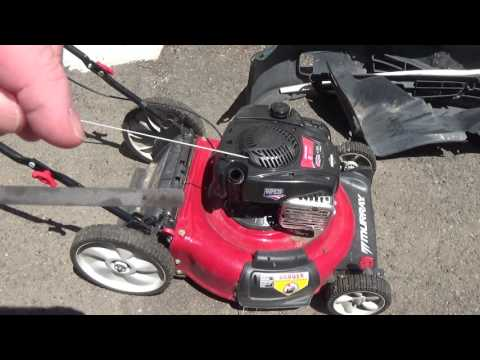 How to check your lawn mower's oil level