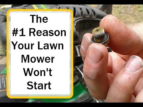 How to fix a lawn mower that won't start - Ten Minute DIY Repair