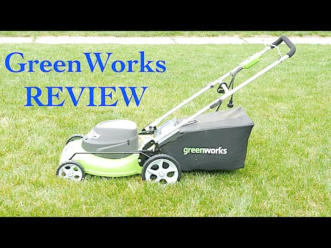 GreenWorks 25022 12 Amp Corded 20 Inch Lawn Mower Review