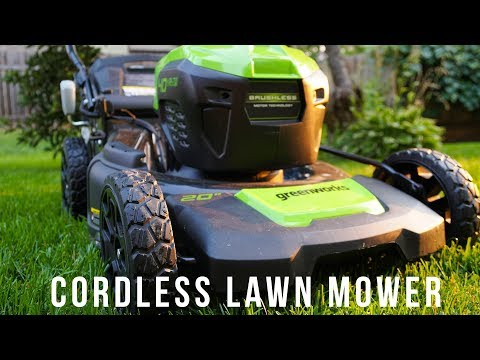 Greenworks 40V Cordless Electric Lawn Mower Review