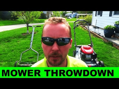 Reel Mower vs Rotary Mower - Which is Better?