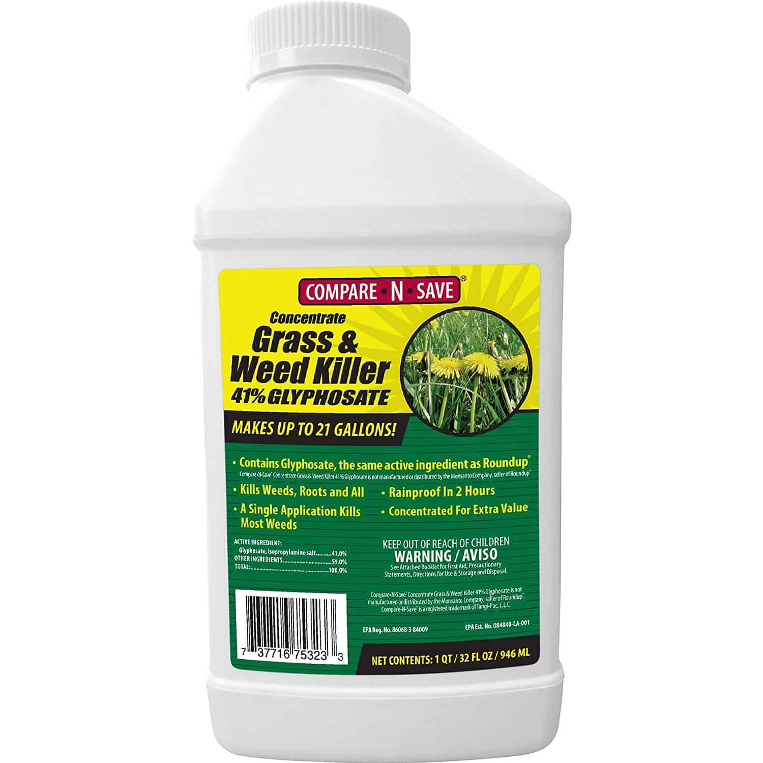 Ragan & Massey Glyphosate Concentrate Grass and Weed Killer