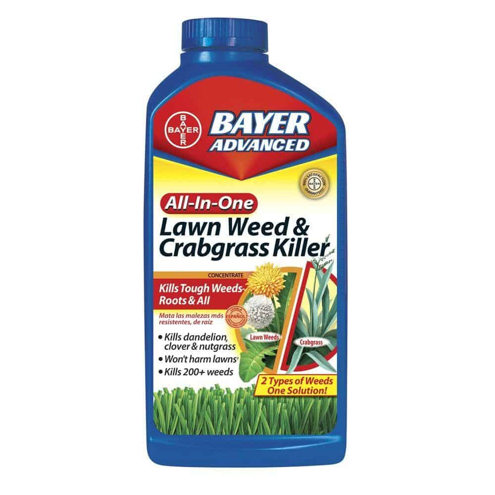 Bayer Advanced All-In-One Lawn Weed & Crabgrass