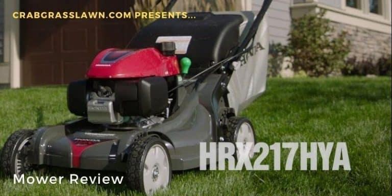 Honda HRX 217 HYA Mower Review