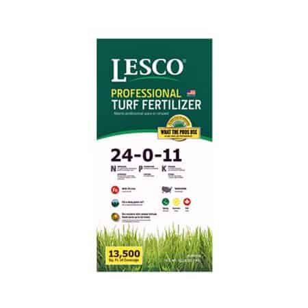 Best fertilizer for st augustine grass - Lesco professional turf fertilizer
