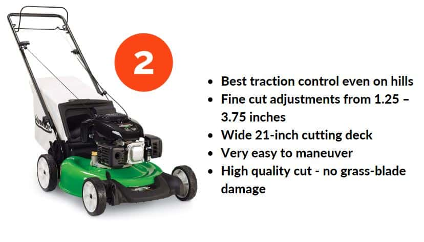 Best lawn mower budget under 300 - Lawn Boy