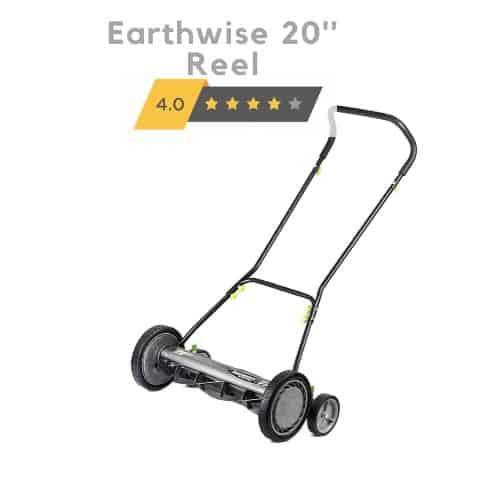 Earthwise 2001-20EW 20-Inch 5-Blade Push Reel Lawn Mower