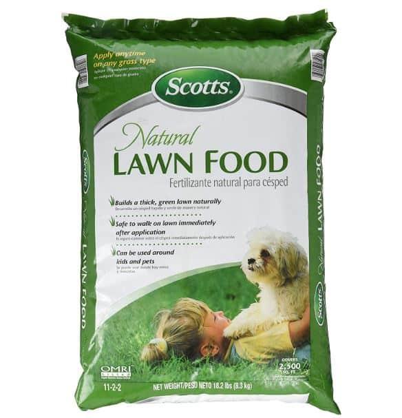 Scotts Natural Lawn Food as Milorganite substitute