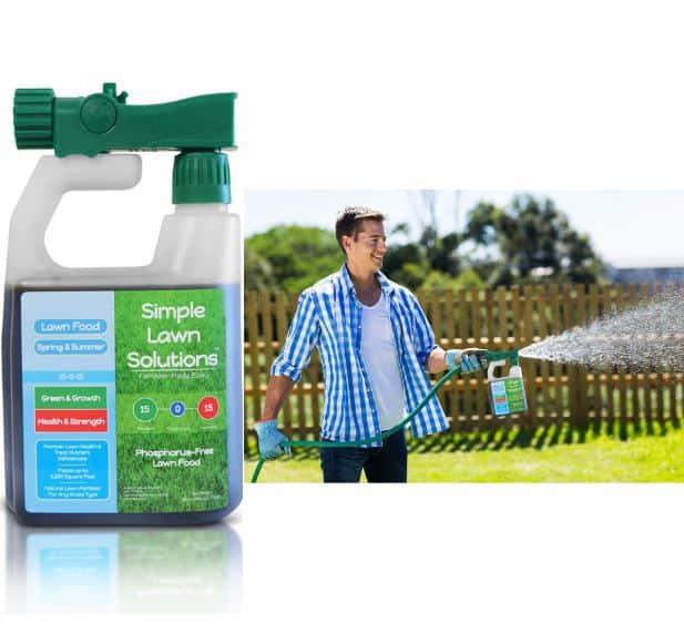 Superior Nitrogen & Potash 15-0-15 NPK- Lawn Food Natural Liquid Fertilizer