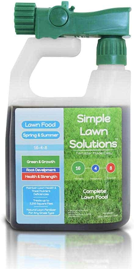 Best Liquid Fertilizer for Bermuda grass - Simple Lawn Solutions 16-4-8 NPK