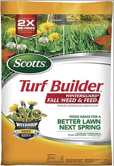 Best Weed and Feed Fertilizer for Bermuda grass - Scotts Turf Builder Weed and Feed