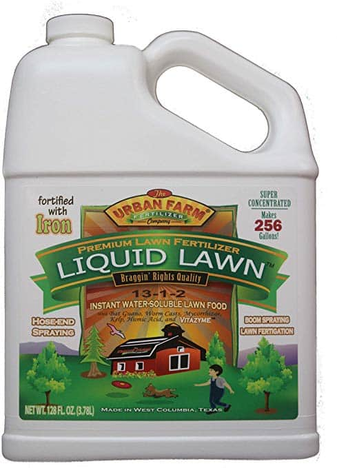 Liquid lawn fertilizer for bermuda grass Urban Farm
