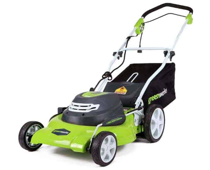 Bestt lawn mower under 300 - GreenWorks 20-Inch 12 Amp Corded Electric Lawn Mower 25022