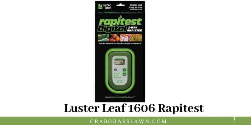 Luster Leaf 1606 Rapitest review