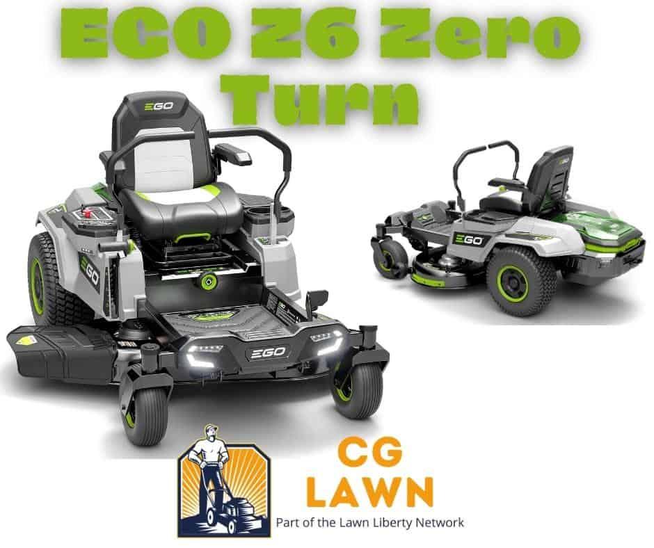 EGO Z6 Zero Turn Battery Powered Mower Review