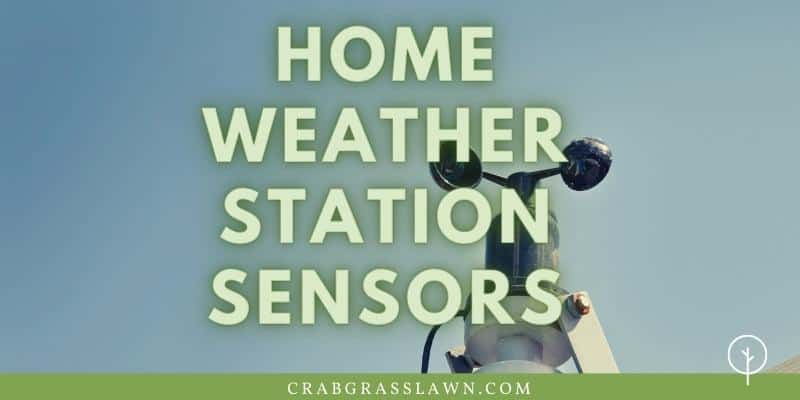 home weather station sensors