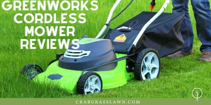 Greenworks cordless mower reviews