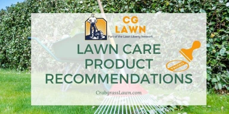 lawn care product recommendations