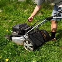 start the lawn mower